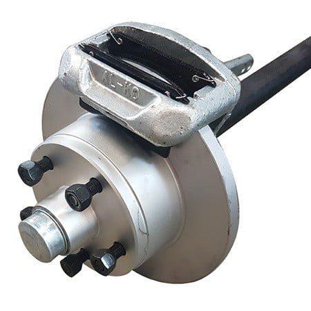 45mm round mechanical disc brake