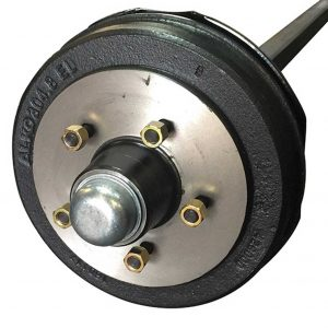 50mm Square Electric Axle Kit 2t
