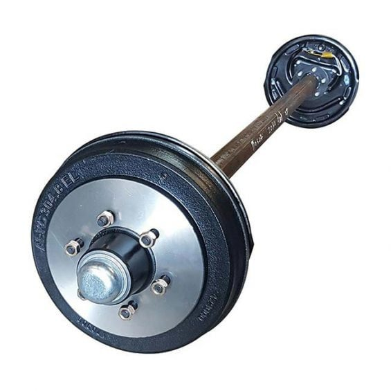 60mm Round 2t - 3t Electric Brake