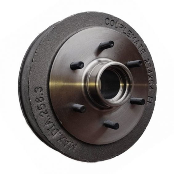 electric parallel brake drum