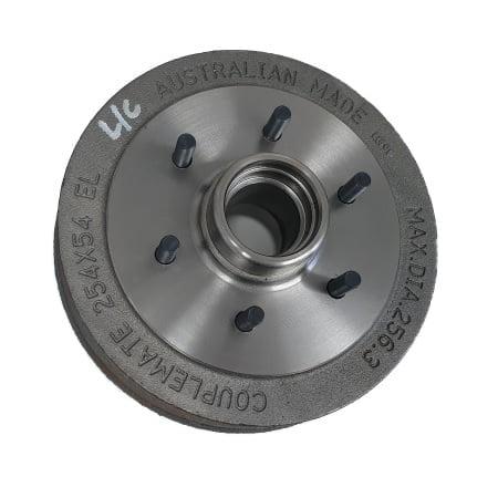 6 Stud Landcruiser Parallel electric brake drum