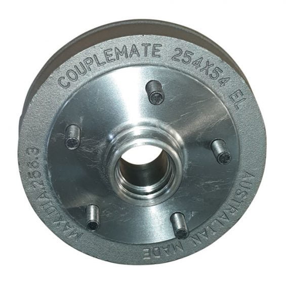 electric parallel brake drum