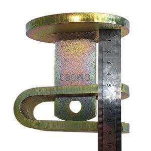 Pintle Hitch Coupling Trailer Lock measurements