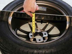 Measuring your wheel offset