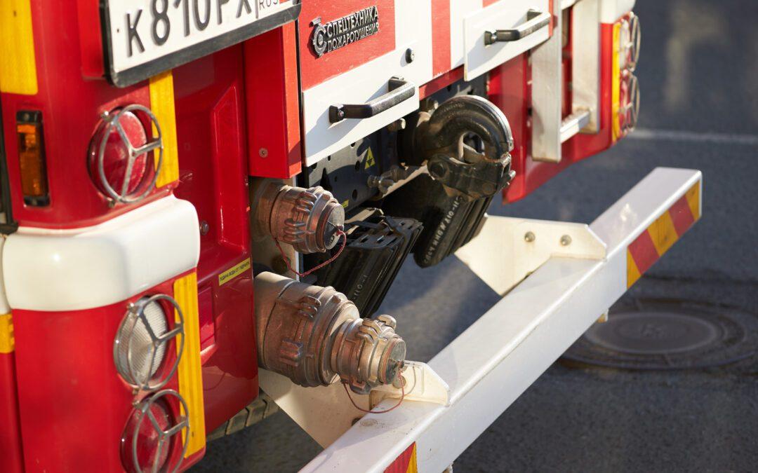Fire Truck Pintle Hook