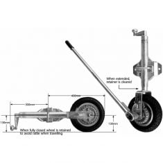 power mover jockey wheel em1sb
