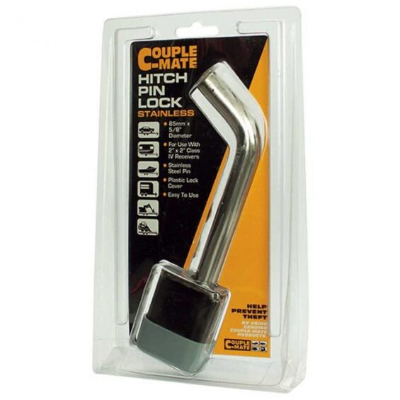 hitch pin receiver lock