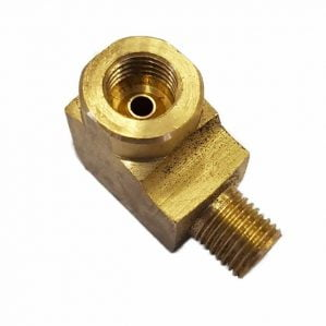Brass Nut Angle Adaptor