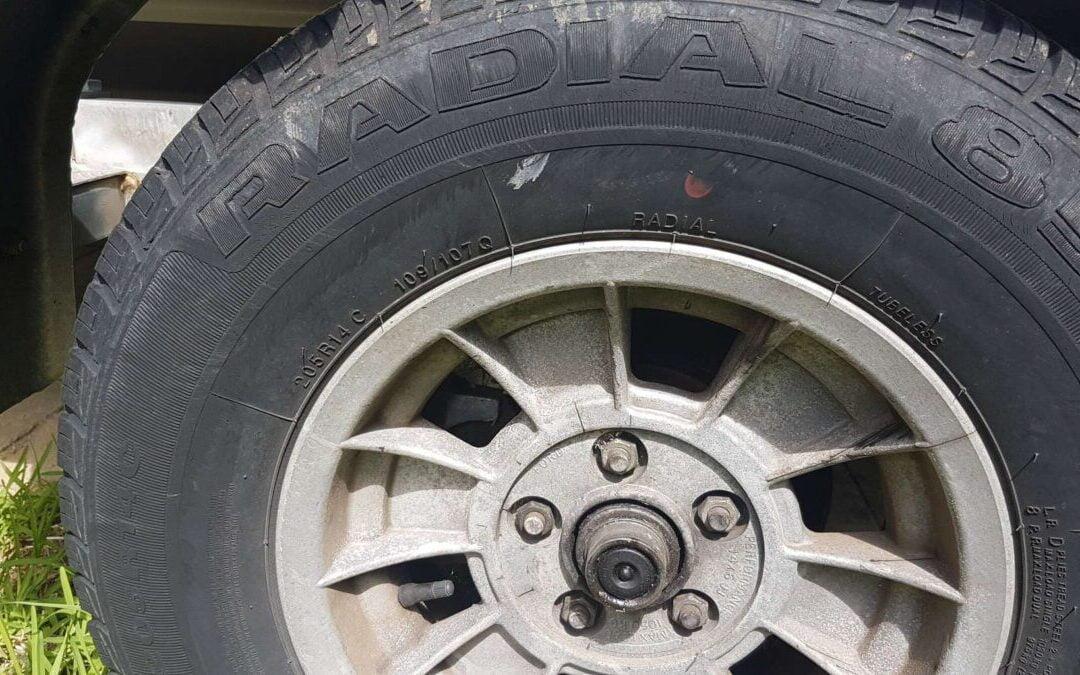 Mag Wheel Nuts and Lug Nuts rusty