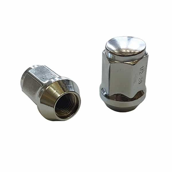 1/2 Ford Mag Wheel Nut Long. Chrome Dome Nuts.