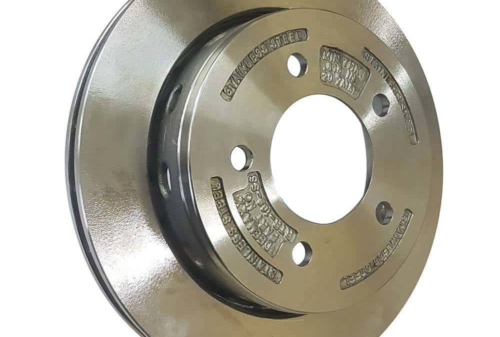 Stainless Top Hat Disc Rotor – Ford 5 Stud