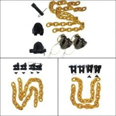 Truck Trailer Safety Chain Holder Kit