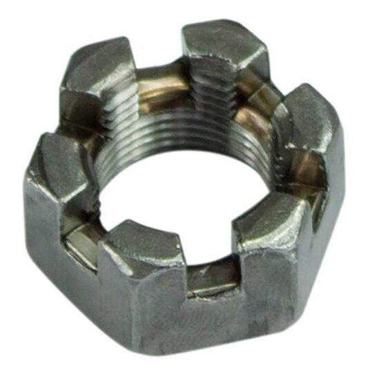 Al-ko castellated Axle Nut 2t 14tpi parallel
