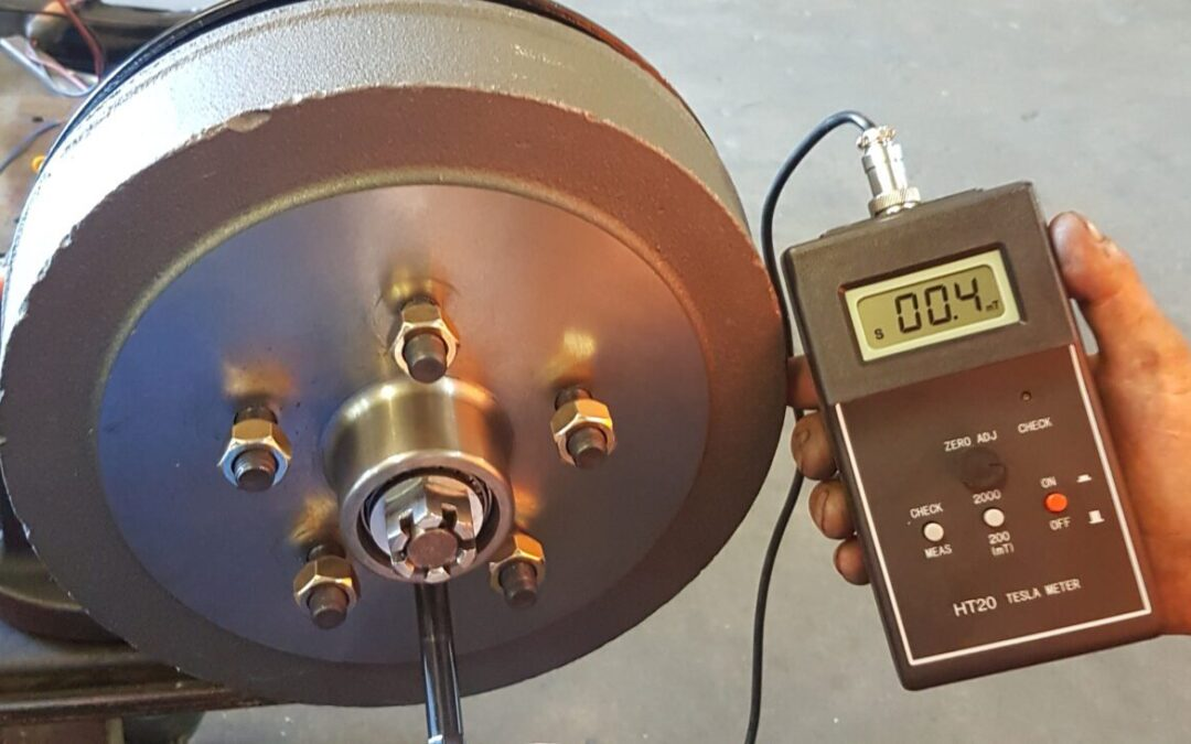 How electric drum magnets can become electrically ineffective