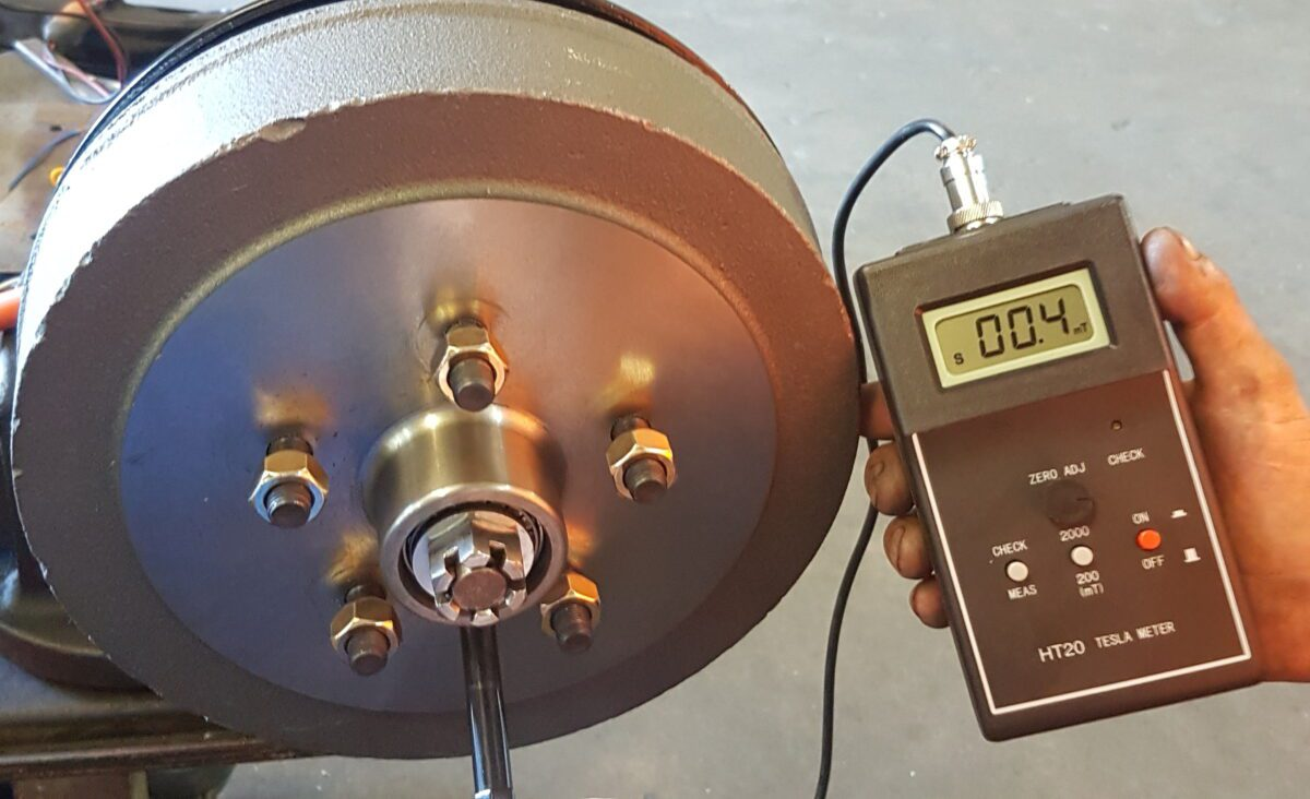 How Electric Drums become Electrically Polarised