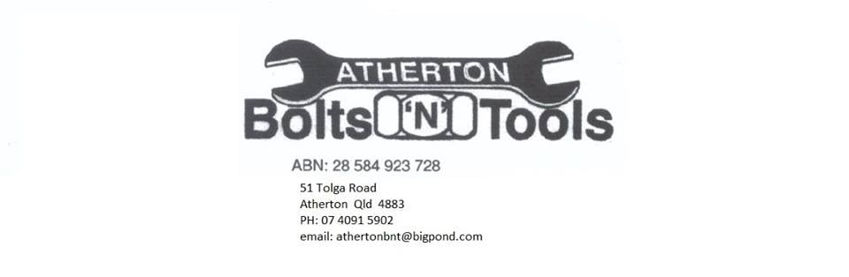 Atherton Bolts and Tools