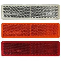 Reflectors for trailers caravans