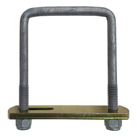 125mm x 100mm u-bolt clamp kit
