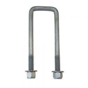 50mm square galvanised U bolt
