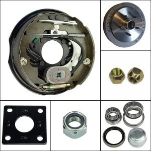 electric conversion brake parts