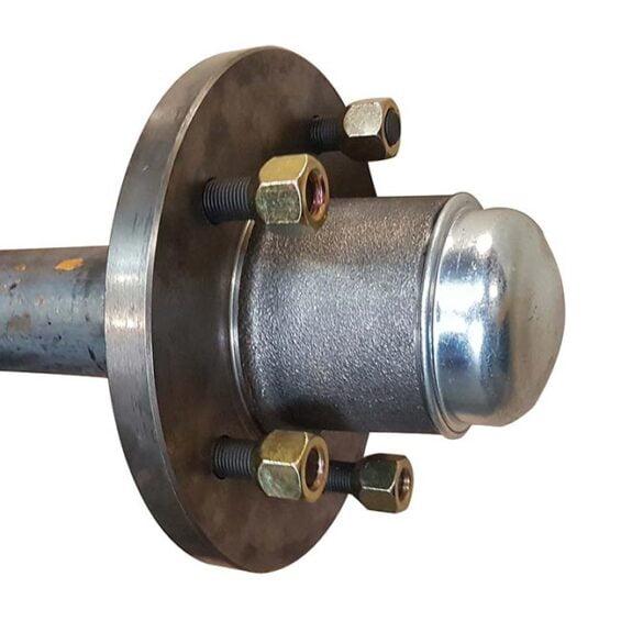 60mm Round Axle 3t