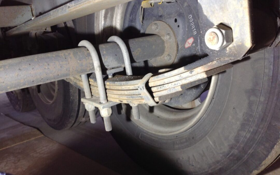 Stretching U-Bolts cause Caravanning Problems