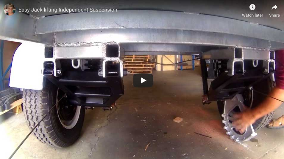 Easy Axle Jack Demonstration Video.