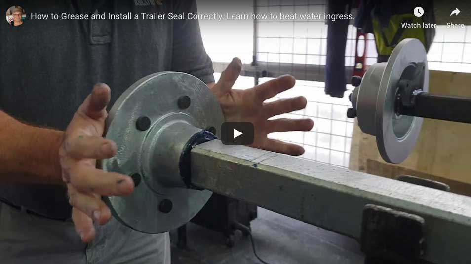 Install a marine seal correctly.