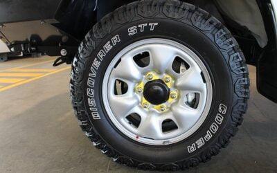 Caravan Wheel Nut Indicators