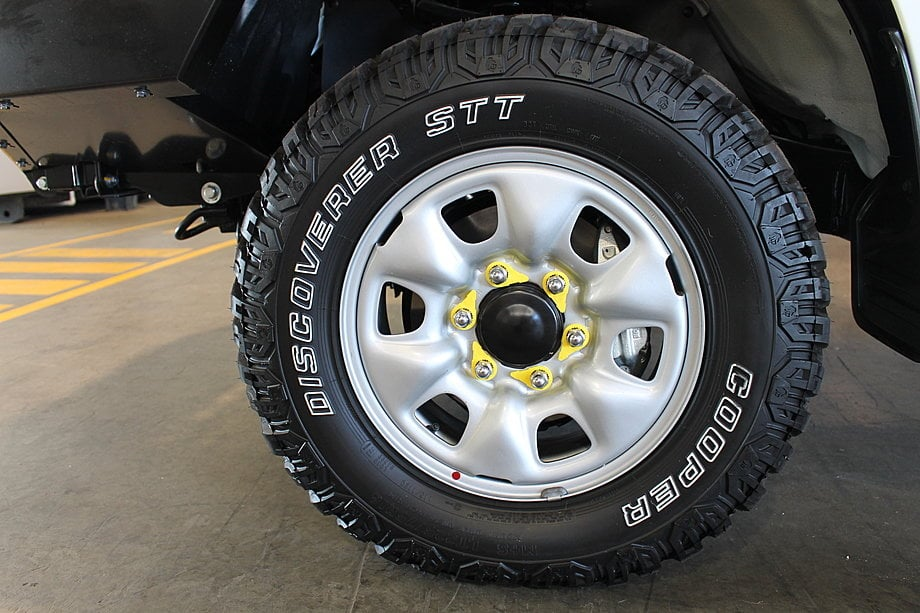 landcruiser wheel nut indicator