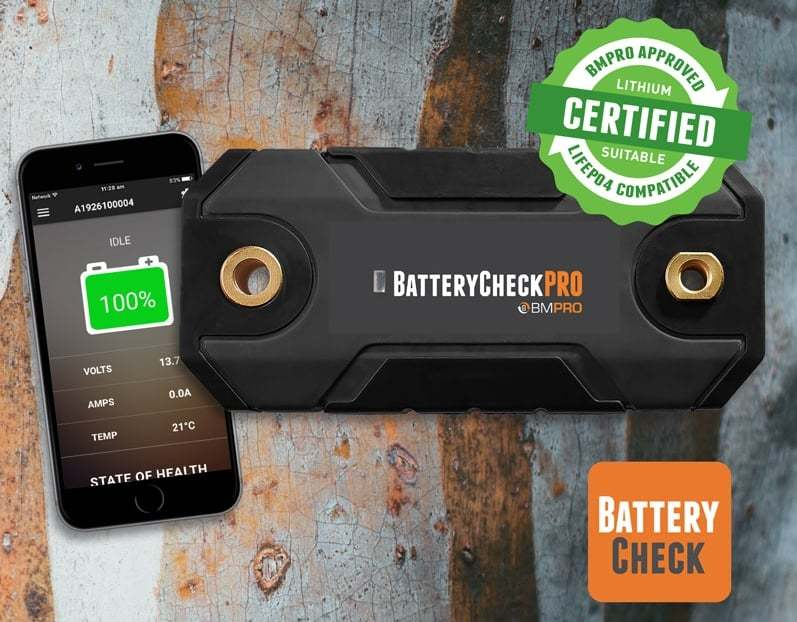 Bluetooth Battery Monitor Check
