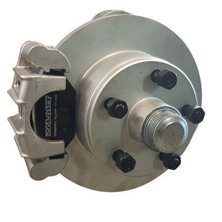 45s galvanised axle hydraulic disc