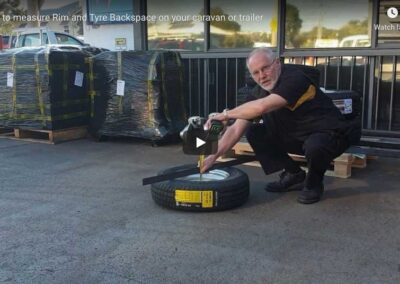 How To Correctly Measure Rim & Tyre Backspace