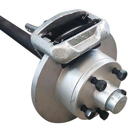 mechanical disc brake axle