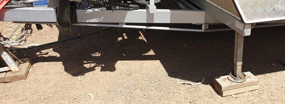 How to Optimise Caravan Stabiliser Leg Setups