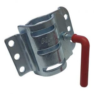 Alko standard jockey wheel double clamp
