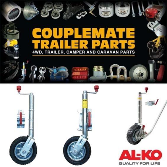 250mm alko jockey wheels