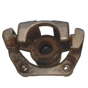 old caliper piston jammed