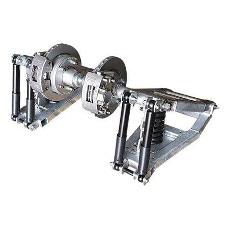 hydraulic independengt suspension
